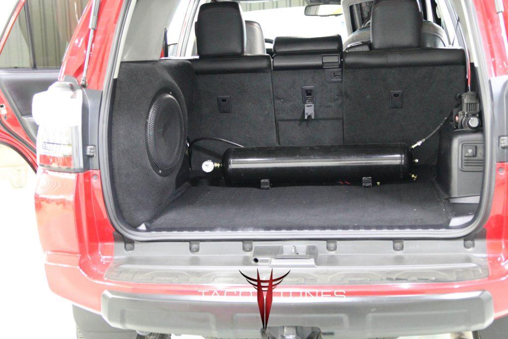 Toyota 4Runner Fiberglass Subwoofer Box