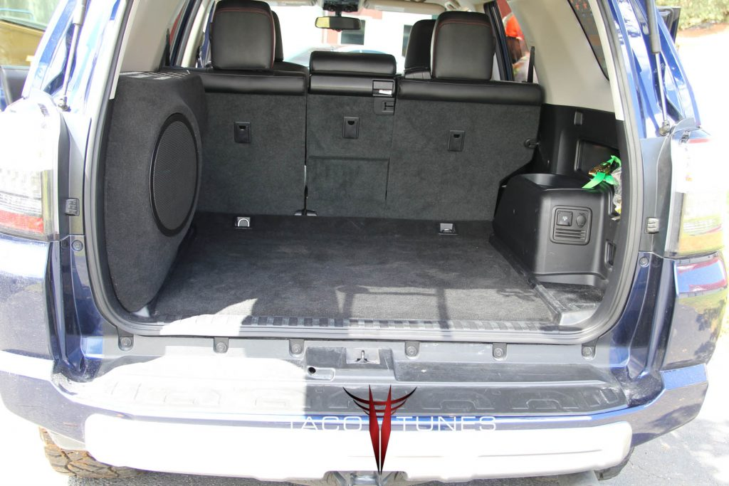 Toyota 4Runner Ported Subwoofer Enclosure