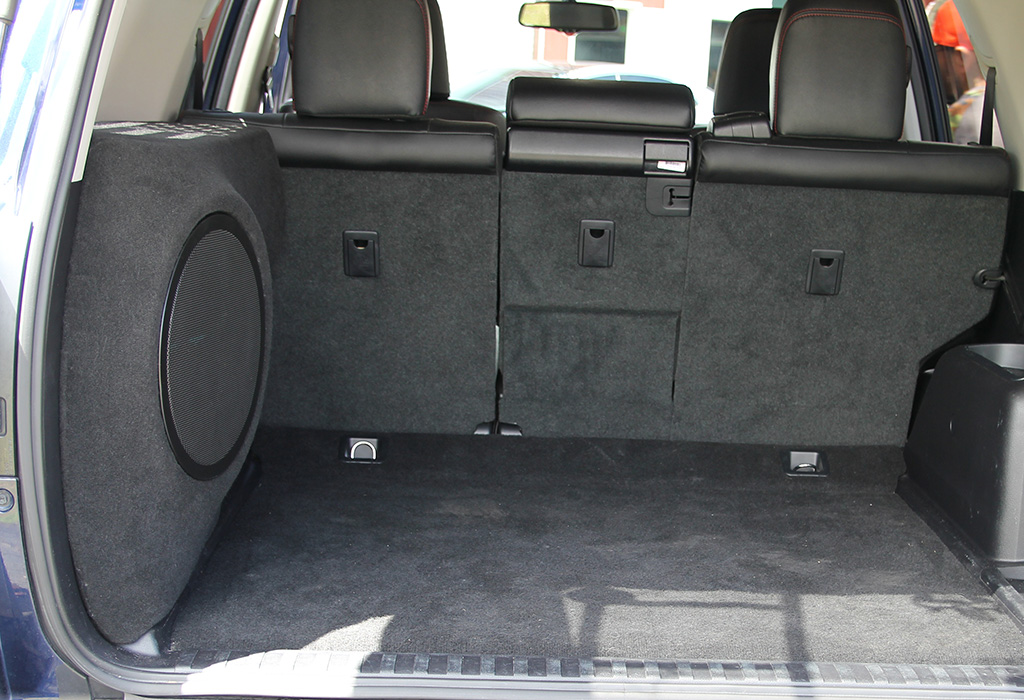 Toyota 4Runner Ported Subwoofer box 12 inch enclosure