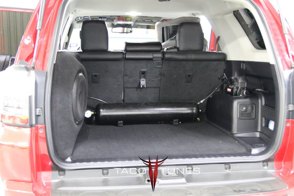Toyota 4Runner Subwoofer Box 12 inch ported
