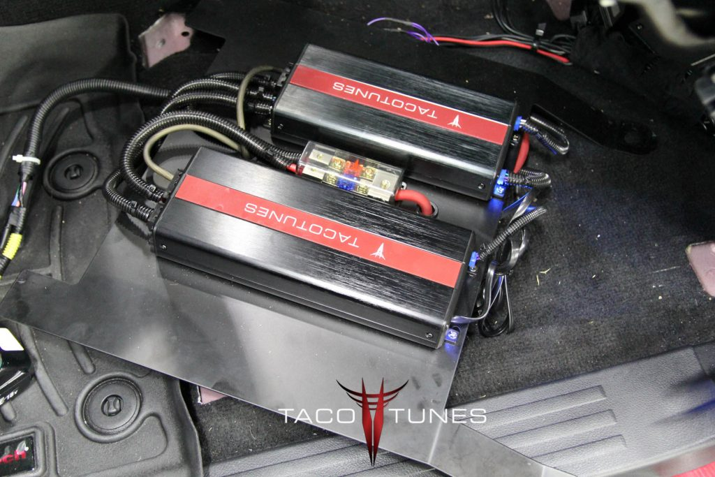 Toyota 4Runner speaker subwoofer amplifiers