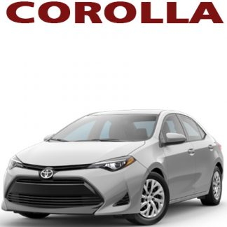 Toyota Corolla Audio Products