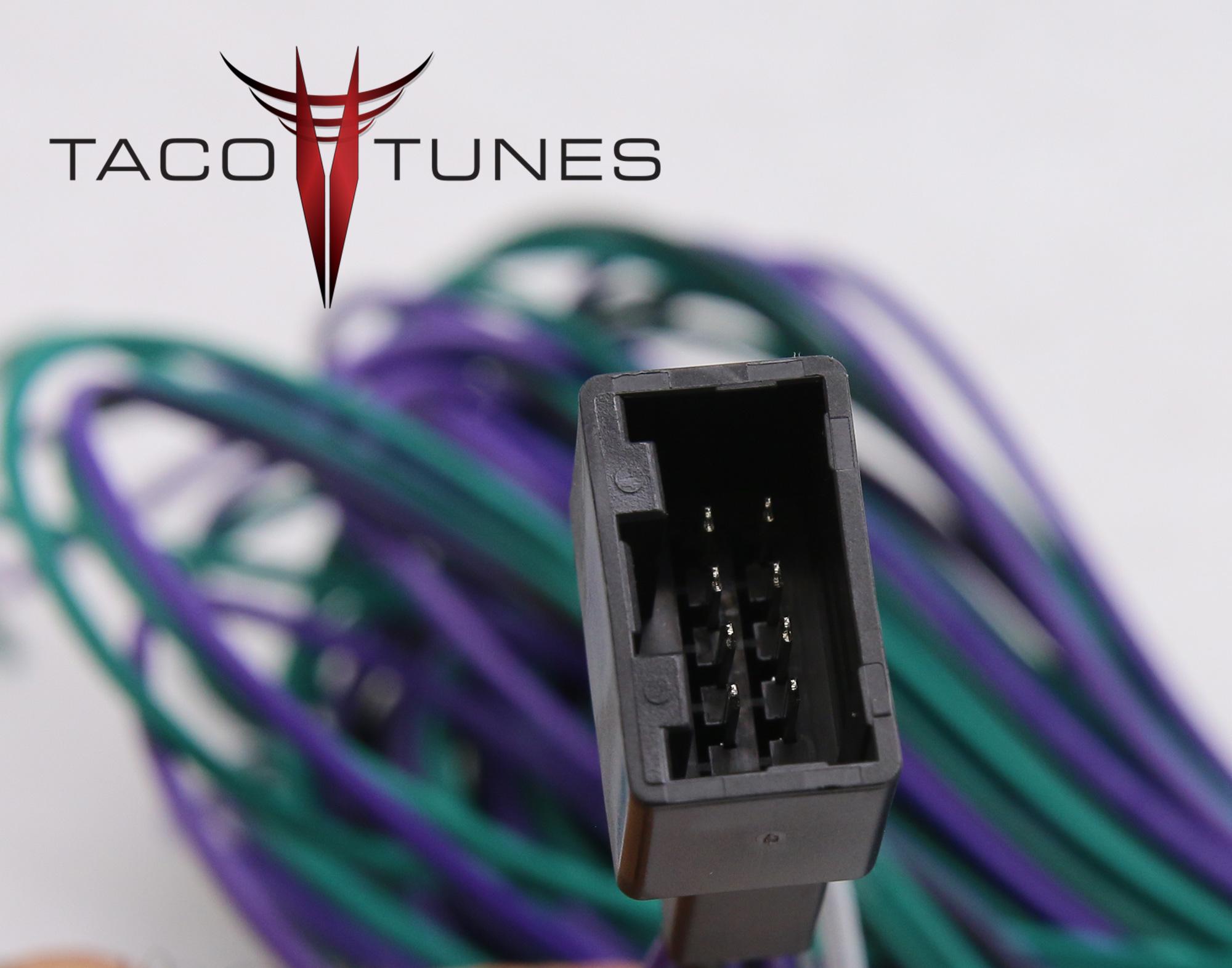 Toyota Camry Radio Wiring Harness from tacotunes.com