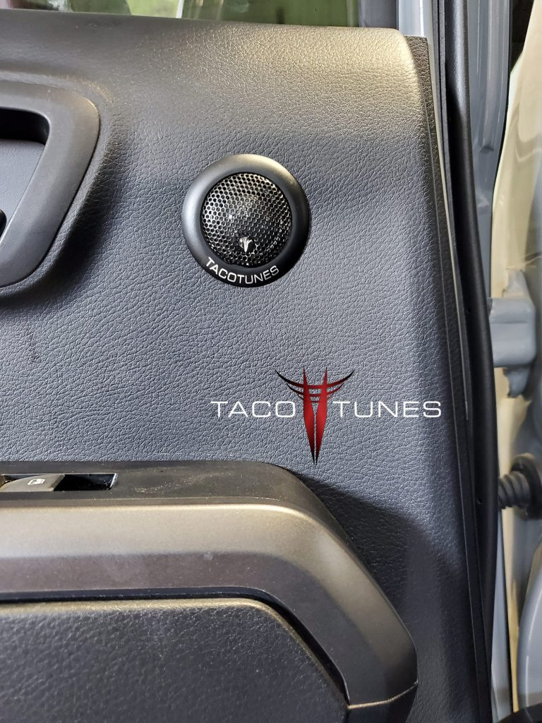 Toyota Tacoma Rear Door Component Speakers