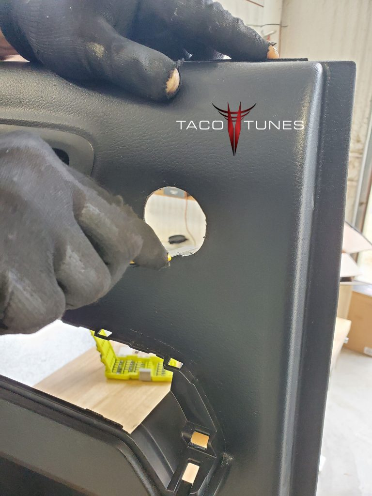 Toyota Tacoma Double Cab Rear Door Component Speakers